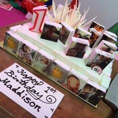 Celebrating your 1st #birthday with a #Boomf cake made by Adriano Zumbo? YUMMY!!! Thank you Andrew for the idea :)