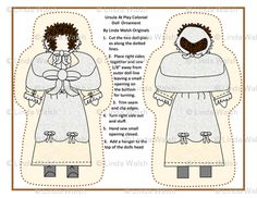 Ursula Cut and Sew Doll Ornament Colonial Fabric  - Linda Walsh Originals Fabric Designs: My New Colonial Custom Fabric Designs For ursula At Play and Her Brother, Zacheus At Play