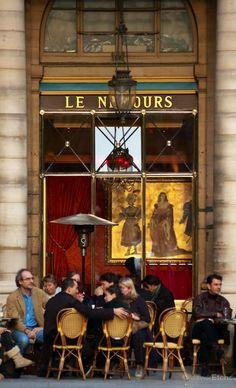 """ღღ """"Cafe """"""""Le Nemours"""""""" near Palais Royal, Paris, France"""" Oh Paris, Paris Cafe, I Love Paris, Paris Travel, France Travel, Tour Eiffel, Paris Ville, In Vino Veritas, Oui Oui"""