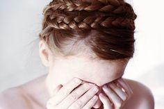 I wish I didn't suck at braiding my own hair.