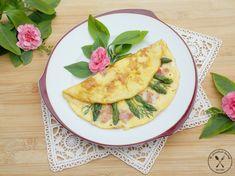 Omlet francuski ze szparagami i szynką parmeńską – Wędrówki po kuchni