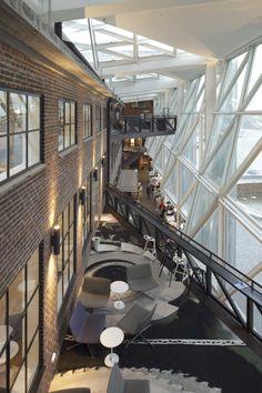 Photo: David Borland #Architecture #arkitekturhelsingør #kulturværftet