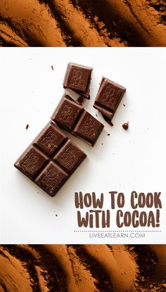 Everything you need to know about cocoa, including how it's made, varieties, how to store it, recipe idea, and healthy nutrition information for cocoa powder. // Live Eat Learn