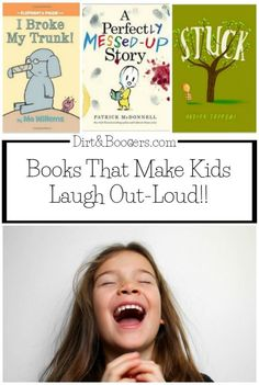 Books That Will Make Your Child Laugh Out-Loud! ~ I love funny children's books that make kids roar with laughter! Funny Books For Kids, Funny Kids, Funny Children's Books, Humor Books, Good Books, Books To Read, My Books, Preschool Books, Book Activities