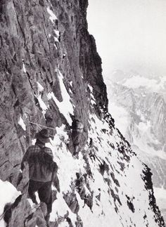 Climbing the Alps in the 1940's | Mister Crew