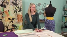 """Girl Charlee Fabrics: Tutorial Tuesday :: """"It's Sew Easy"""" Bandage Knit Skirt with Family Ever After"""