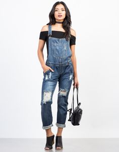 Off-duty days are meant to be spent in the Relaxin' All Cool Denim Overalls! Pair these overalls with a lace crop top and ankle strapped stilettos for that put together off-duty outfit.