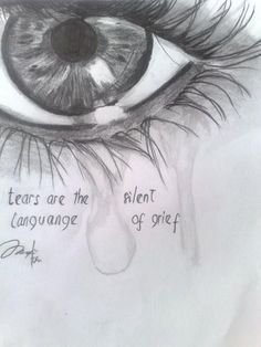 Image result for crying is how your heart speaks