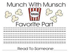 First Grade Best: Authors-Robert Munsch author study