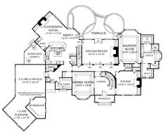images about house plans on Pinterest   French country homes    House Plan   Country European Plan   Sq  Ft   Bedrooms  Bathrooms  Car Garage