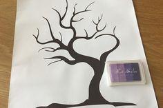 Sormivärit ja puu -vieraskirja