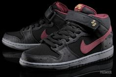 Nike SB Dunk Mid - Cherrywood | Sole Collector