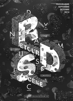 RDS Poster / Patrick Garbit | AA13 – blog – Inspiration – Design – Architecture – Photographie – Art