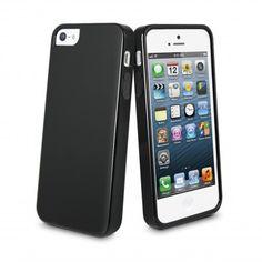 Funda MiniGel Muvit iPhone 5 - Negro