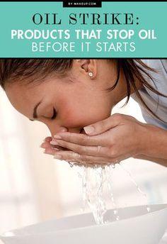 stop oily skin