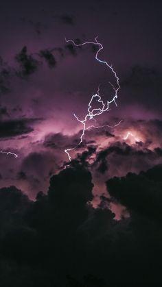 Lightning, clouds, dark, storm, 720x1280 wallpaper