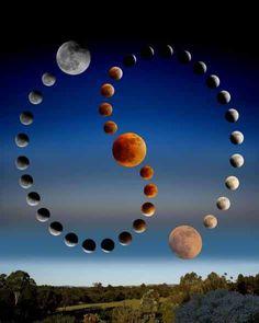 Moon - Lunar Magic - La Lune - Full Moon - Lunar Eclipse Yin Yang, Lunar Magic, Helix Nebula, Orion Nebula, Andromeda Galaxy, Luna Moon, Carina Nebula, Hubble Images, Sun Moon Stars