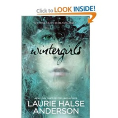 Wintergirls - a great YA book - would recommend for kiddos that liked the Crank series...