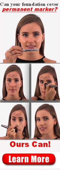 Watch our Liquid Foundation hide permanent marker! Go Here: http://hon-mods.com?pin