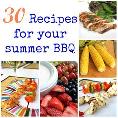 30 Recipes for your 4th of July BBQ!
