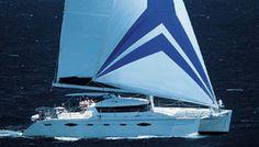 Charter Sailing Catamaran - PASSAGERS DU VENT - Sunreef Charter