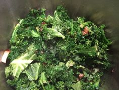 Mystery Lovers' Kitchen: Stir-fry kale is delicious! From author @DarylWoodGerber