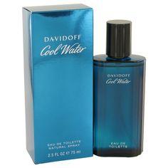 Cool Water By Davidoff Eau De Toilette Spray 2.5 Oz