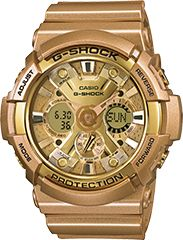 That gold G-Shock!