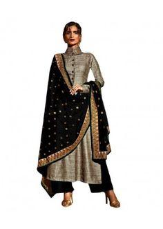 Eid Special Beige Bhagalpuri Plalazzo Suit -  70623