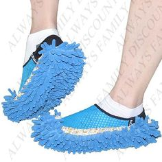 Cute Fuzzy Cleaning Shoes Lazy Slippers Scrubbing Floor Shoes Clean Shoes Floor Cleaner Slipper Mop - Assorted Color
