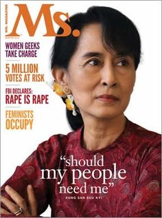 Aung San Suu Kyi  23 Magazine Covers That Got It Right When Depicting Powerful Women    http://www.huffingtonpost.com/2014/01/27/magazine-covers-powerful-women_n_4673808.html?1390858415&ncid=edlinkusaolp00000008