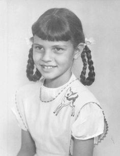 Raquel Welch 1950's school photo