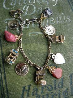 Wishing Well Vintage Charm Bracelet