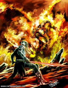 Feanor and Gothmog. The Ñoldor managed to win the battle, and disperse Morgoth's armies. Fëanor, still in a great rage, pressed on toward Angband. He came even within sight of Angband, but was ambushed by a force of Balrogs, with few elves about him. He fought mightily, hewing even after receiving several wounds from Gothmog, captain of the Balrogs. Gothmog cut down Fëanor after a long battle