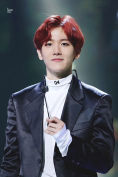EXO's Baekhyun 161101 SBS Power FM 20th Anniversary Concert Credit: May Fairy. (SBS 파워FM 20주년 콘서트)