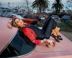 Photography:Gilles Bensimon Styled by: Carlotta Oddi Hair: David Keough Makeup: Quinn Murphy Model: Stella Maxwell