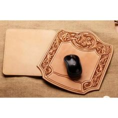 leathercraft pattern, mouse pad pattern, leather carving pattern, leather template