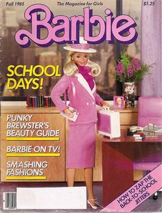 Barbie Magazine. Day to Night Barbie as Covergirl.
