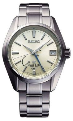 Grand Seiko Watch Spring Drive GMT #bezel-fixed #bracelet-strap-steel #brand-grand-seiko #case-depth-13-8-mm #case-material-steel #case-width-41-mm #clasp-type-hidden-folding-clasp #date-yes #delivery-timescale-call-us #dial-colour-ivory #gender-mens #gmt-yes #luxury #movement-spring-drive #official-stockist-for-grand-seiko-watches #packaging-grand-seiko-watch-packaging #power-reserve-yes #subcat-spring-drive #supplier-model-no-sbge005j #warranty-grand-seiko-official-2-year-guarantee…