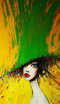 Taras Loboda 1961 | Ukrainian Portrait painter. Click the link for more paintings, it's wonderful!