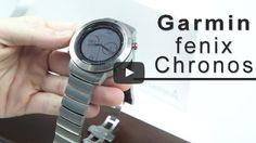 #Gadgets #reloj Análisis del Garmin Fenix Chronos, el reloj deportivo de gama alta