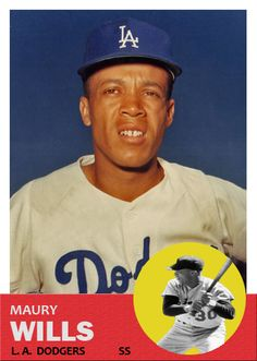 17 Best Maury Wills Images In 2015 Maury Wills Dodgers Baseball
