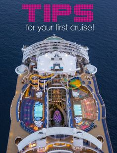 Planning for your first world cruise can be tough. Here is a step-by-step guide to plan a perfect vacation on a cruise! Image: Harmony of the Seas by Royal Caribbean