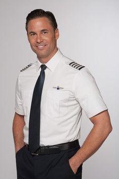 Better fitting shirts for pilots. Adam needs this. Pilot Shirt Fit Chart for pilot shirt Pilot Uniform, Uniform Shirts, Men In Uniform, Airline Uniforms, Airline Pilot, Commercial Pilot, Chef Jackets, Handsome, Mens Fashion