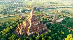 Travel With Kids, Family Travel, Travel Stroller, Bagan, Ancient Ruins, Vulture, Ancient Civilizations, Holiday Destinations, Asia