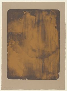 Helen Frankenthaler. Bronze Smoke. 1978