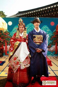 Si me caso con un coreano, me gustaria casarme con una boda tradicional coreana