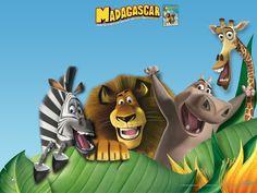 Imprimibles de Madagascar 4.