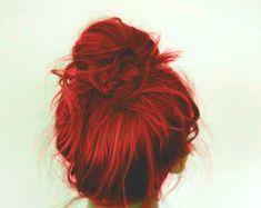 SALE  HAIR CHALK Red // Temporary Hair Color // by SalonChalks, $0.99