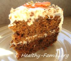 This is hands-down, the best carrot cake I have tried, and it's GF/DF!